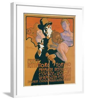 Fratelli Rittatore Torino-Adolfo Hohenstein-Framed Art Print