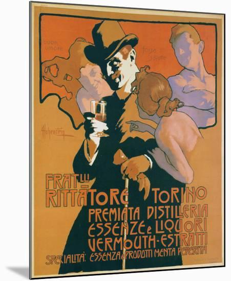 Fratelli Rittatore Torino-Adolfo Hohenstein-Mounted Art Print