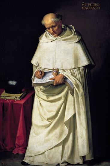 Fray Pedro Machado-Francisco de Zurbar?n-Giclee Print