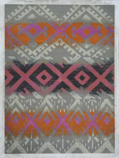 Frazada IV (Embellished)-Chariklia Zarris-Art Print