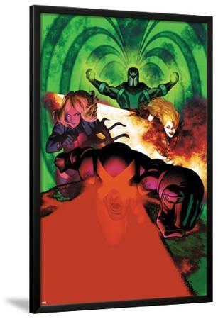 Uncanny X-Men #5 Cover: Cyclops, Magik, Frost, Emma, Magneto