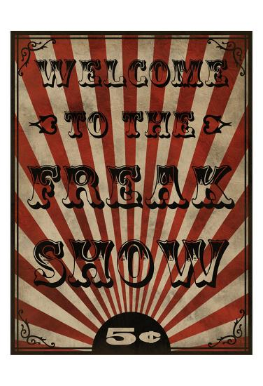 Freak Show-Marcus Prime-Art Print