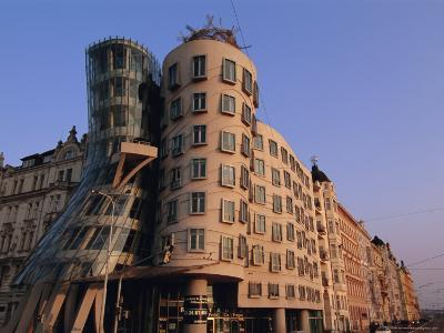 Fred and Ginger Building, Prague, Czech Republic, Europe-Neale Clarke-Photographic Print