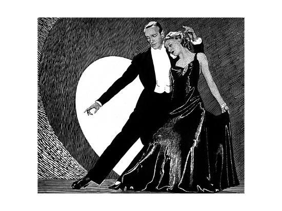 Fred Astaire And Ginger Rogers Giclee Print Art Com