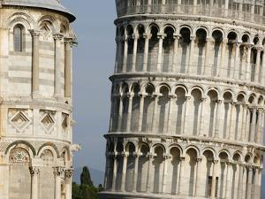 Cathedral and Leaning Tower of Pisa by Fred de Noyelle