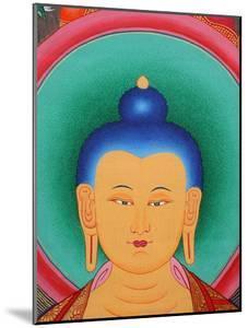 Tibetan Buddha Tanka by Fred de Noyelle