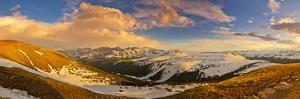 USA, Colorado, Rocky Mountain NP. Overlook from Trail Ridge Road. by Fred Lord