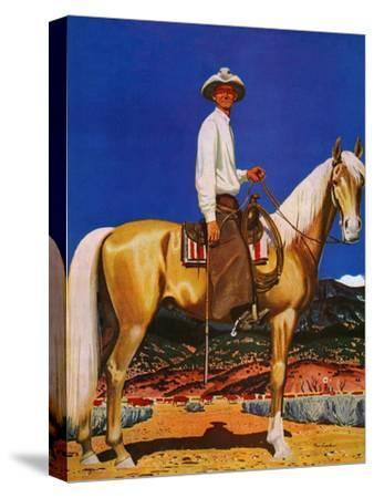 """Cowboy on Palomino,"" September 18, 1943"