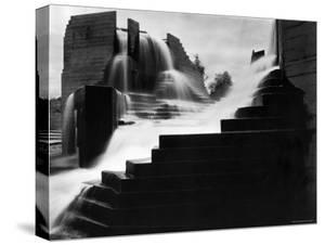 Cascading Waterfalls Called Lovejoy, Designed by Lawrence Halprin by Fred Lyon