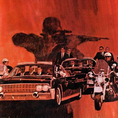"""""""The Kennedy Assassination,"""" January 14, 1967 by Fred Otnes"""