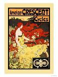 American Crescent Cycles-Fred Ramsdell-Art Print