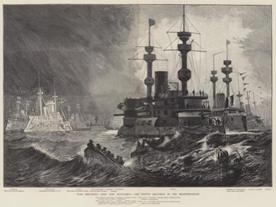 Does Britannia Need New Bulwarks? the French Squadron in the Mediterranean by Fred T. Jane