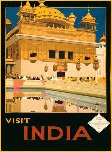 Visit India - The Golden Temple (Harmandir Sahib) - Amritsar, Punjab by Fred Taylor