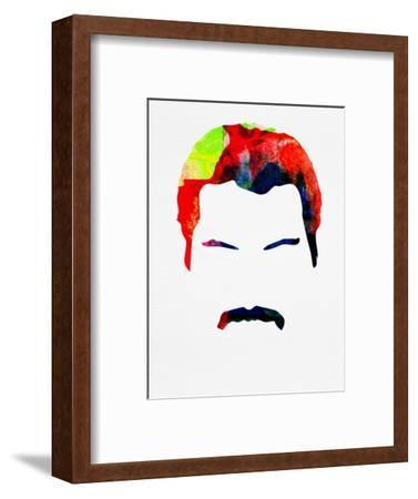 Freddie Watercolor-Lora Feldman-Framed Art Print