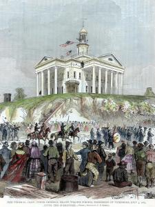 Capture of Vicksburg, Mississippi, by the Union Army, American Civil War, 4 July 1863 by Frederic B Schell