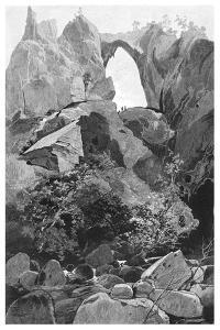 Carlotta Arch, Jenolan Caves, New South Wales, Australia, 1886 by Frederic B Schell