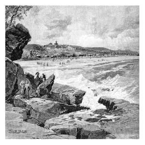 Ocean Beach, Sydney, New South Wales, Australia, 1886 by Frederic B Schell