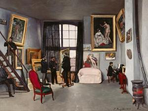 The Artist's Studio by Frederic Bazille