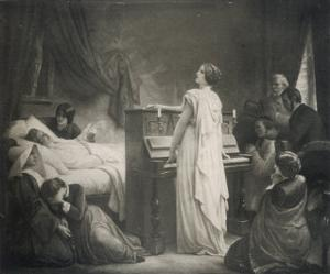 Frederic Chopin Polish Musician on His Deathbed