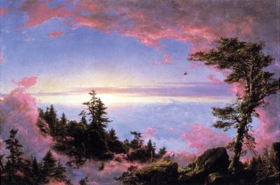 Above the Clouds at Sunrise by Frederic Edwin Church