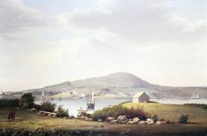 Blue Hill, Maine by Frederic Edwin Church