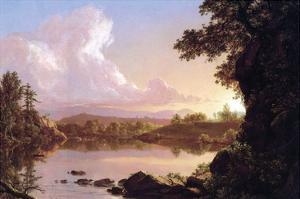 Catskill Creek by Frederic Edwin Church