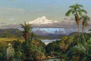 Cayambe, 1858 by Frederic Edwin Church