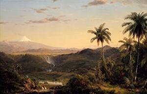 Cotopaxi by Frederic Edwin Church