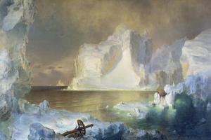 Die Eisberge. 1861 by Frederic Edwin Church
