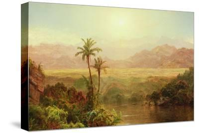 In the Andes, 1878