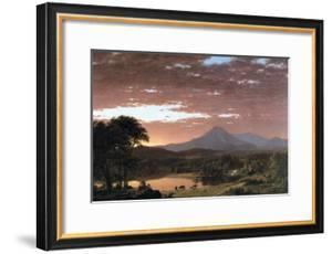 Mount Ktaadn (Katahdin) by Frederic Edwin Church
