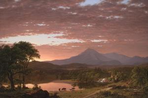 Mt. Ktaadn, 1853 by Frederic Edwin Church