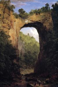 Natural Bridge, Virginia by Frederic Edwin Church