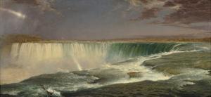 Niagara, 1857 by Frederic Edwin Church