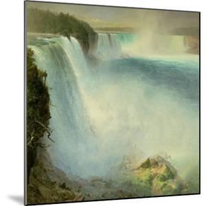 Niagara Falls, from the American Side, 1867 by Frederic Edwin Church