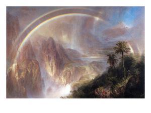Rainy Season in the Tropics by Frederic Edwin Church