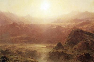 The Andes of Ecuador by Frederic Edwin Church
