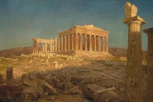 The Parthenon, 1871 by Frederic Edwin Church