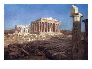 The Parthenon by Frederic Edwin Church