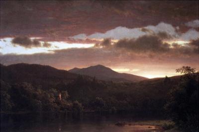 Twilight (Catskill Mountain) by Frederic Edwin Church