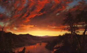 Twilight in the Wilderness, c.1860 by Frederic Edwin Church