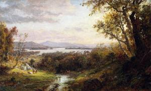 View of the Hudson, 1883 by Frederic Edwin Church