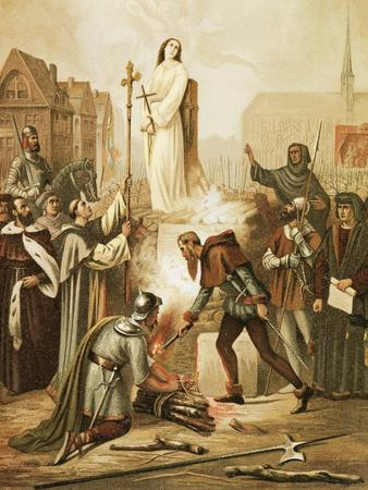 Joan of Arc at the Stake, May 30, 1431