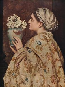 'A Noble Lady of Venice', 1866, (c1915) by Frederic Leighton