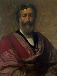 Copy of a Self Portrait, 1880 by Frederic Leighton