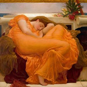 Flaming June by Frederic Leighton