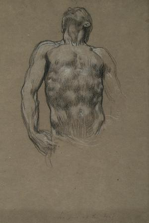 Study for 'And the Sea Gave Up the Dead Which Were in It', 1877-82