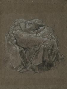 Study for 'Flaming June', C.1894 by Frederic Leighton