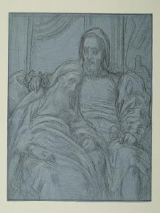 Study for 'Michael Angelo Nursing His Dying Servant', C.1861 by Frederic Leighton