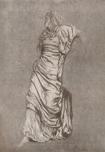 'Study for Rizpah', c1870, (1897) by Frederic Leighton